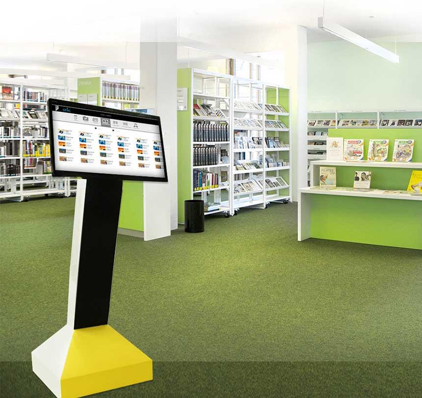 Library Self Service Kiosks   Touch Screen Kiosks   LIBSYS 10